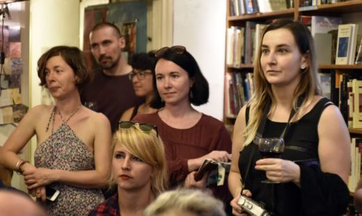 Panel magazine launch \ Budapest Friday Night Stories readings # 4