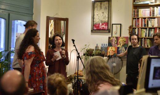 Panel magazine launch \ Budapest Friday Night Stories readings # 4