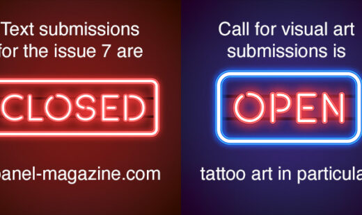 Call for visual art is still open!